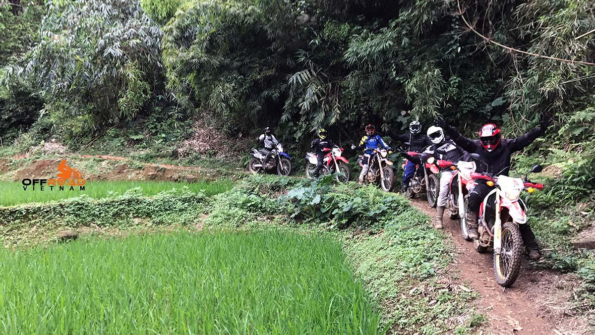 Offroad Vietnam Motorbike Adventures - Relaxing North & Halong 10 days biking via Ba Be.