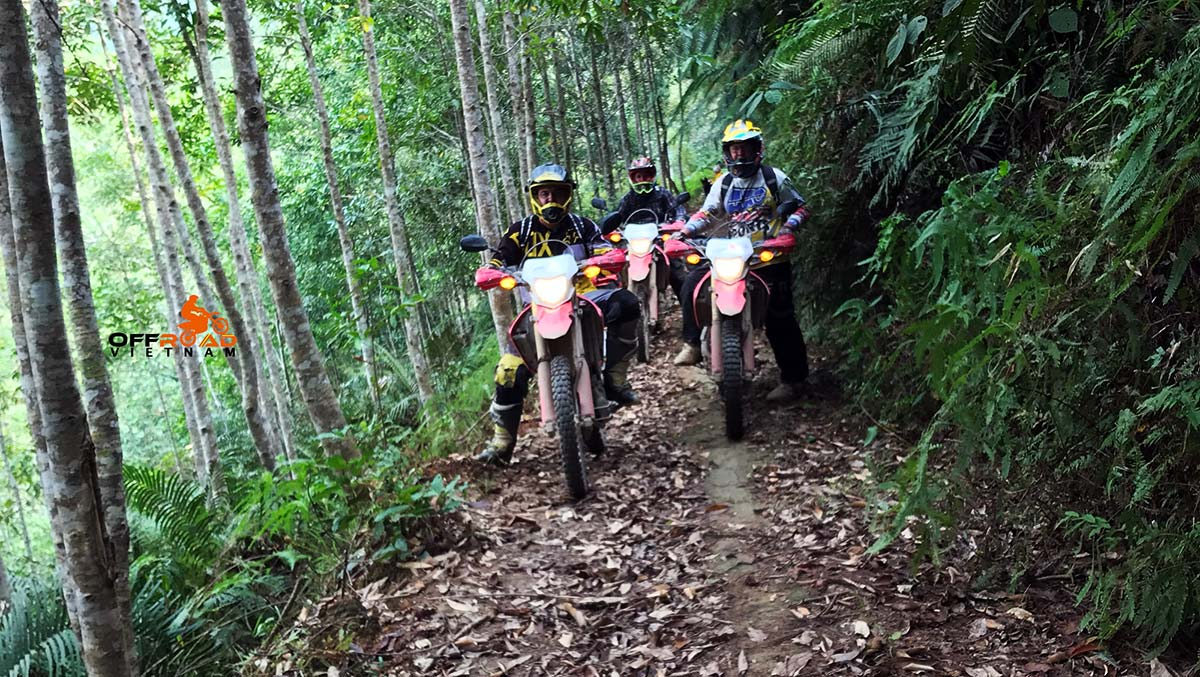 Offroad Vietnam Motorbike Adventures - Roof roads 6 days Vietnam motorbike tour via Nghia Lo.