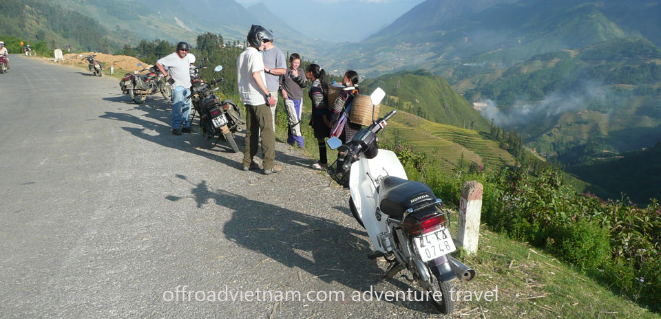 Offroad Vietnam Motorbike Adventures - Sapa In 3 Days By Train Motorcycle Tour. Sapa, Northwest Vietnam Motorcycle Tours In 3 days By Train Both Ends