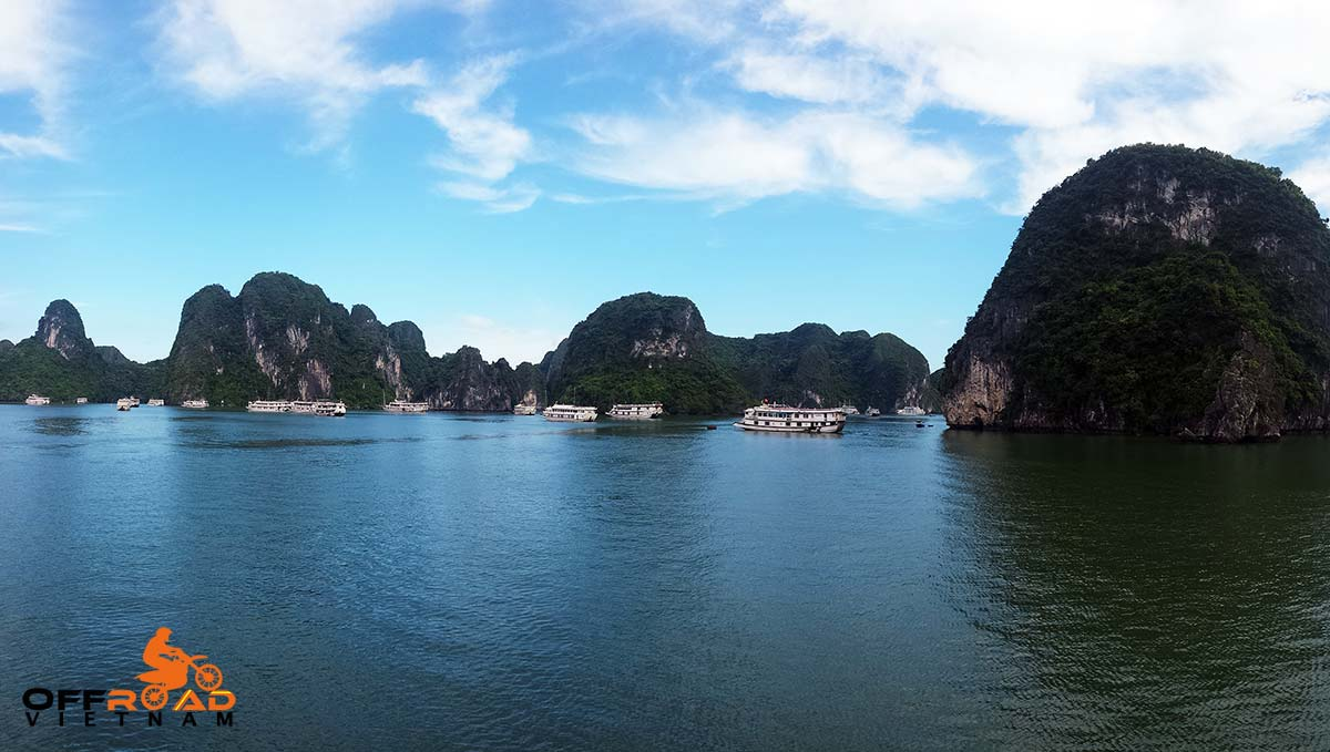 Offroad Vietnam Motorbike Adventures - Northeast Vietnam, ccenic Ha Giang & Halong Bay in 9 days with a boat cruise.