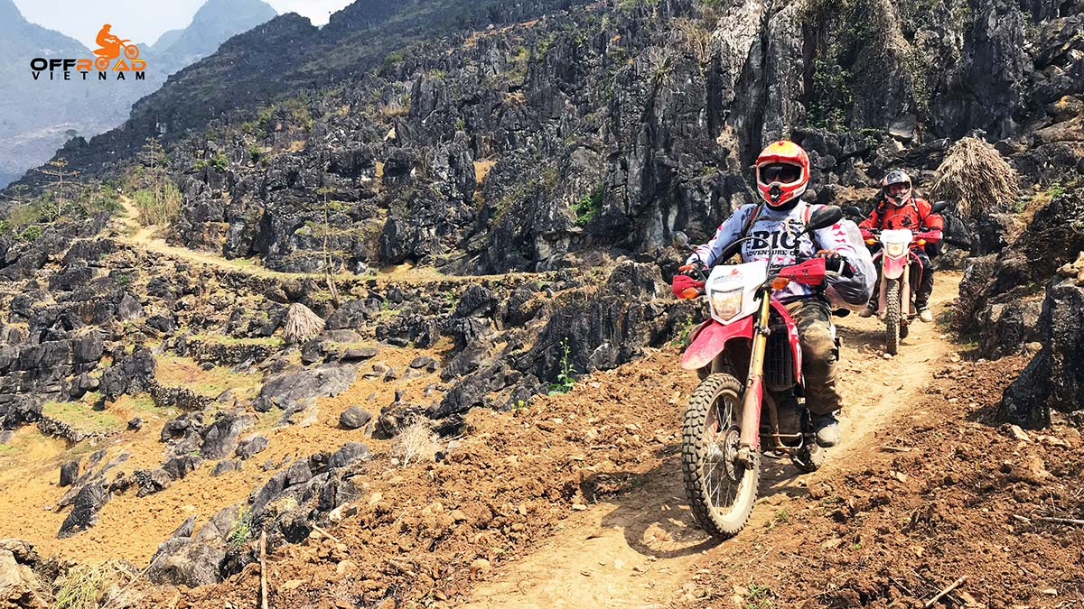 Offroad Vietnam Motorbike Adventures - Northeast Vietnam, ccenic Ha Giang & Halong Bay in 9 days via Dong Van GeoPark.