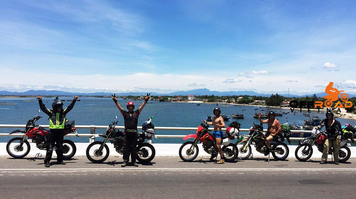 Vietnam motorcycle tours in the Southern part of the country, offered by our partners.