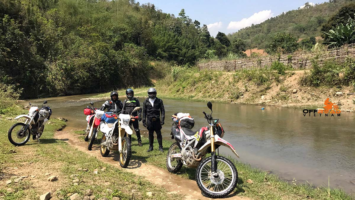 Offroad Vietnam Motorbike Adventures - Standard 8 days North-east motorcycling via Ba Be off-road track.