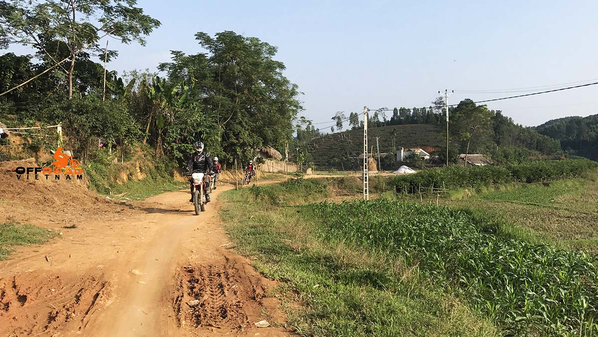 Offroad Vietnam Motorbike Adventures - Thac Ba lake & Northeast 7 Days by bike via villages near Lang Son.