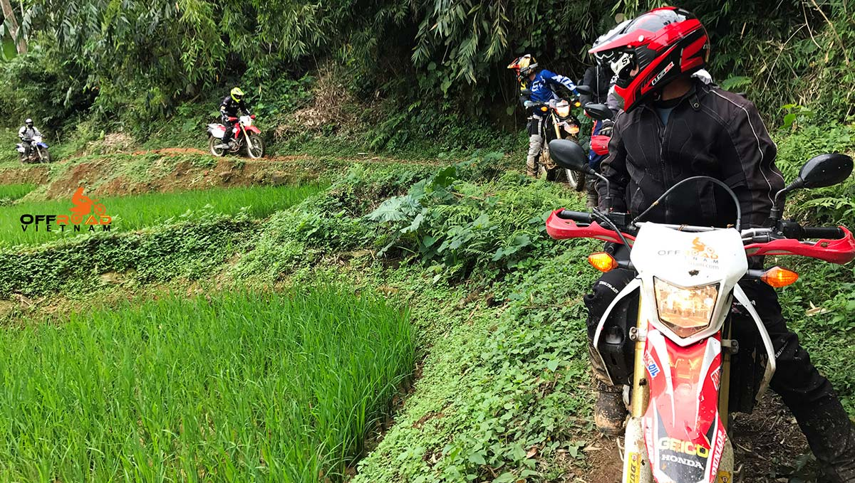 Offroad Vietnam Motorbike Adventures - Thac Ba Lake & Northeast 7 days on bike via Ba Be lake.