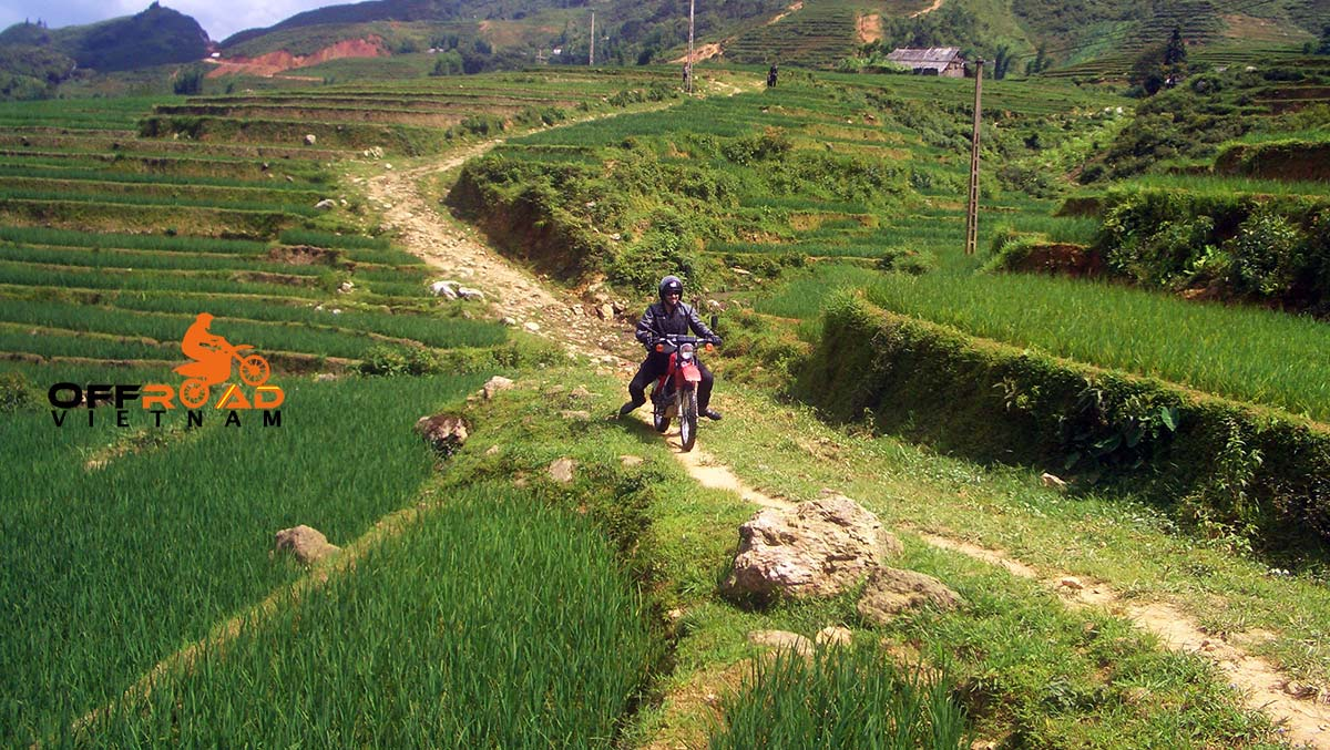 Through NorthWest Vietnam In 10 Days. Vietnam motorbike & motorcycle tours via Bac Ha.