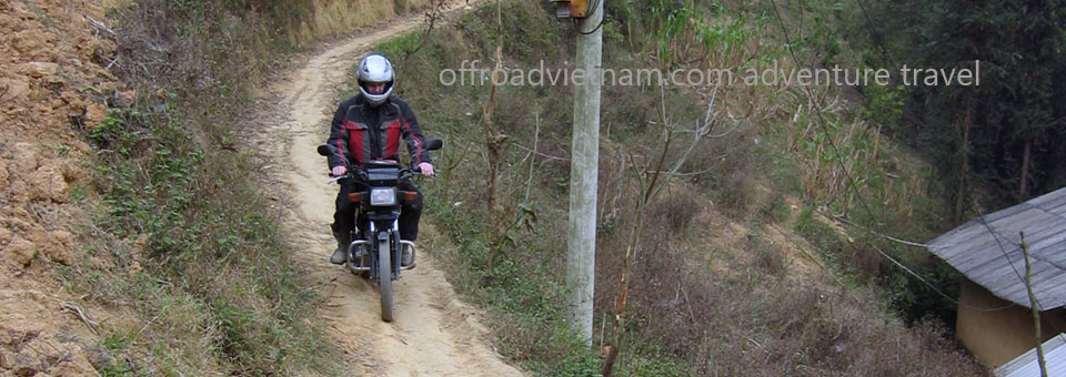Offroad Vietnam Motorbike Adventures - 6 Days Central North Vietnam Homestaying. 6 Days Central North Vietnam Motorcycle Tours Homestaying Version