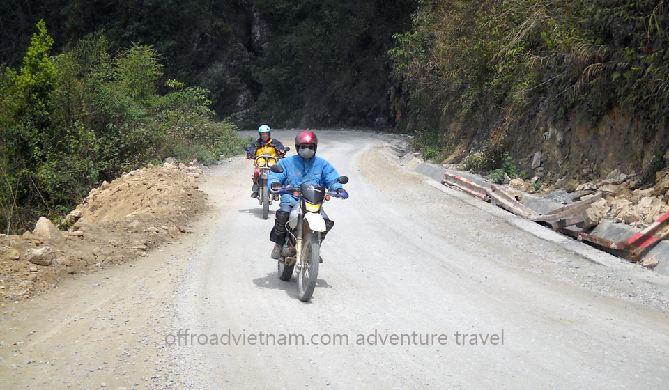 Offroad Vietnam Motorbike Adventures - 4 Days Hoang Lien Range Motorbike Tour. 4 Days On Hoang Lien Mountain Range In Vietnam, Motorbike Touring