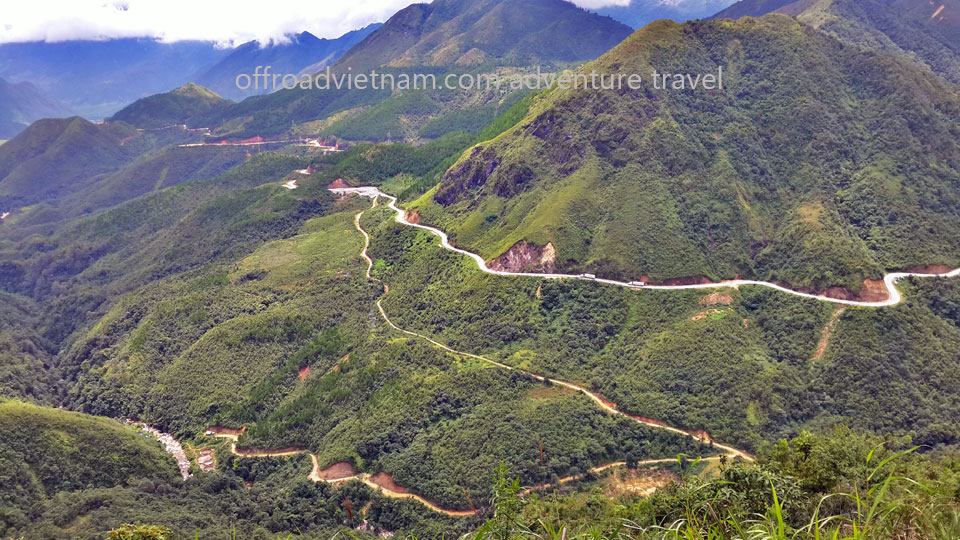 Offroad Vietnam Motorbike Adventures - Challenging Grand North Loop In 14 Days. Sapa Vietnam motorcycle tours on a big North trip 14 days