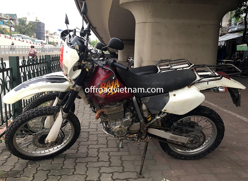 Offroad Vietnam Motorbike Sale - 1998 Honda XR250 Baja For Sale In Saigon, Southern Vietnam. Silver, Red, Black or White with disc brakes