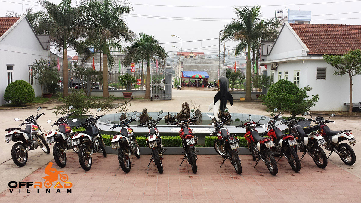 Offroad Vietnam Motorbike Adventures - Used Motorbikes For Sale In Hanoi: touring motorcycles, off-road motorbikes, scooters and other items from Offroad Vietnam.