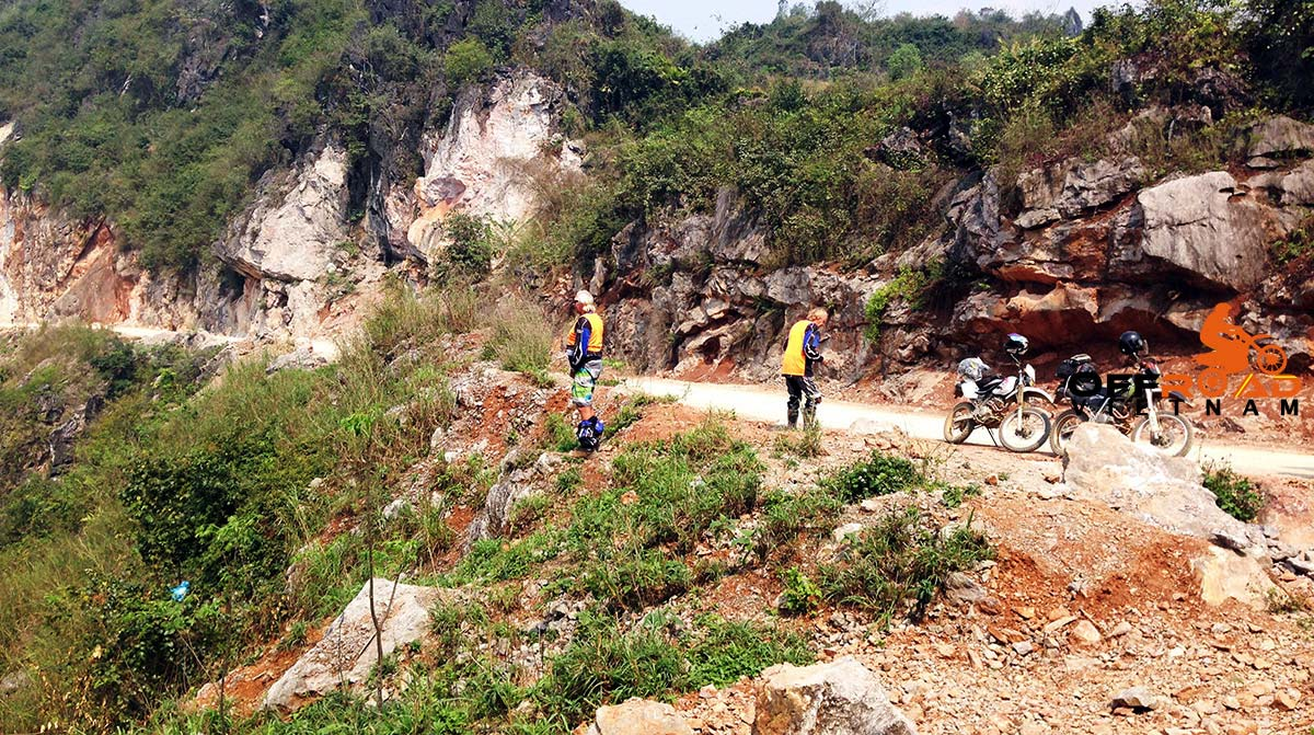 Offroad Vietnam Motorbike Adventures - Route Coloniale 4, RC4 or Highway 4