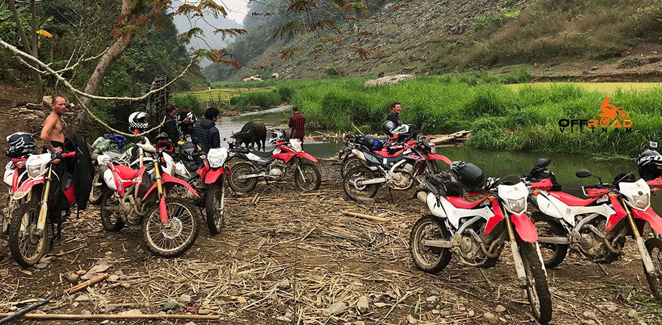 Offroad Vietnam Motorbike Tours offers Vietnam motorcycle tours, Vietnam motorbike adventures and near new scooter hire in Hanoi. This photo was taken on a Ha Giang motorbike tour in early 2018.