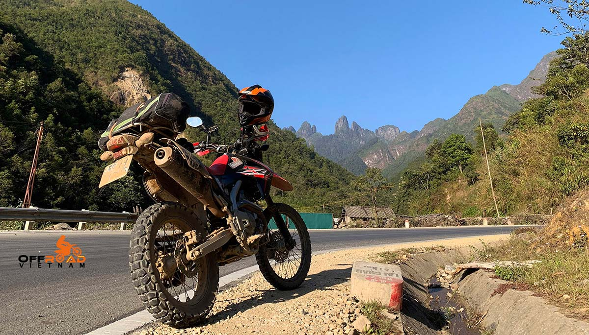 Offroad Vietnam Motorbike Adventures - Vietnam Northwest 8 Days Motorcycle Tour via Lai Chau and Sapa.