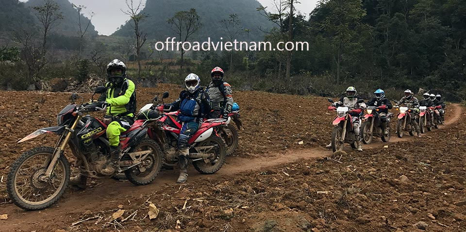 Offroad Vietnam Adventures offers Vietnam motorbike tours, Vietnam motorcycle adventures and scooter rentals in Hanoi. This photo was taken on a Ha Giang motorbike tour in early 2018.
