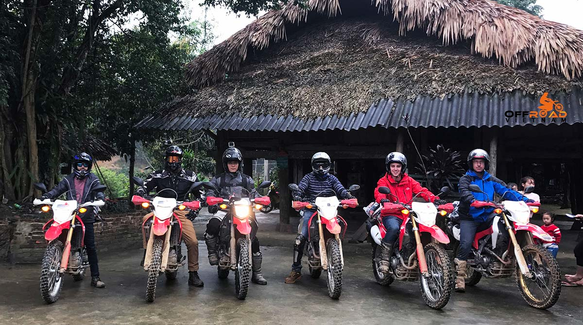 Tour code of Vietnam motorbike tours and other adventures