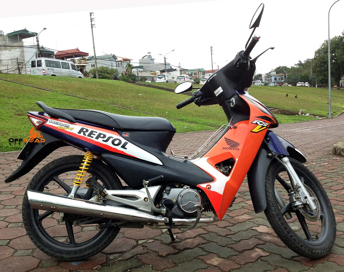 Offroad Vietnam Motorbike Sale - Honda Wave RSV 100cc Scooter For Sale. 2007 100cc Blue. Front Disc Back Drum Brake