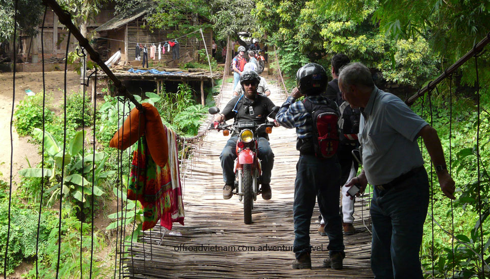 Offroad Vietnam Motorbike Adventures - Northeast Vietnam 4 Days Motorbike Tour. Home Staying Experience