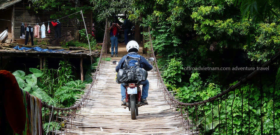 Offroad Vietnam Motorbike Adventures - North-Centre In 4 Days. Home Staying. HomeStaying Version