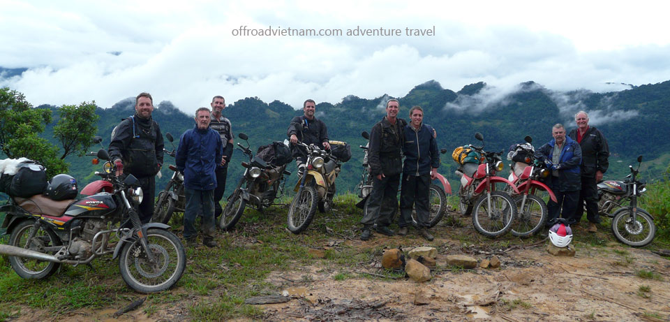 Offroad Vietnam Motorbike Adventures - 9 Days Vietnam Northwest Motorcycle Tour. Mai Chau, Bac Ha, Sapa