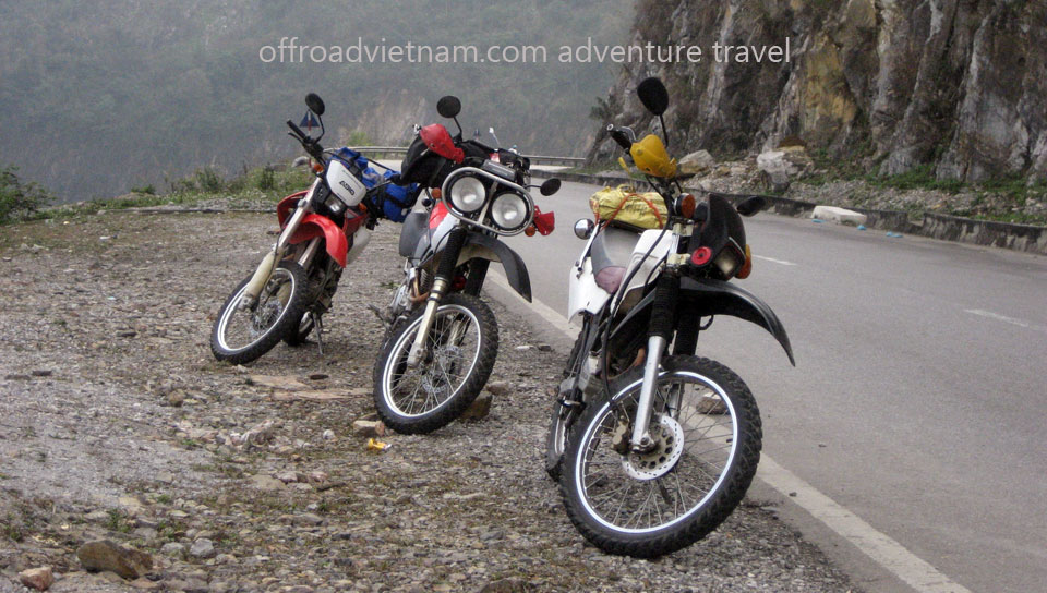 Offroad Vietnam Motorbike Adventures - Challenging 4 Days Big North Motorbiking. For Experienced Riders Only