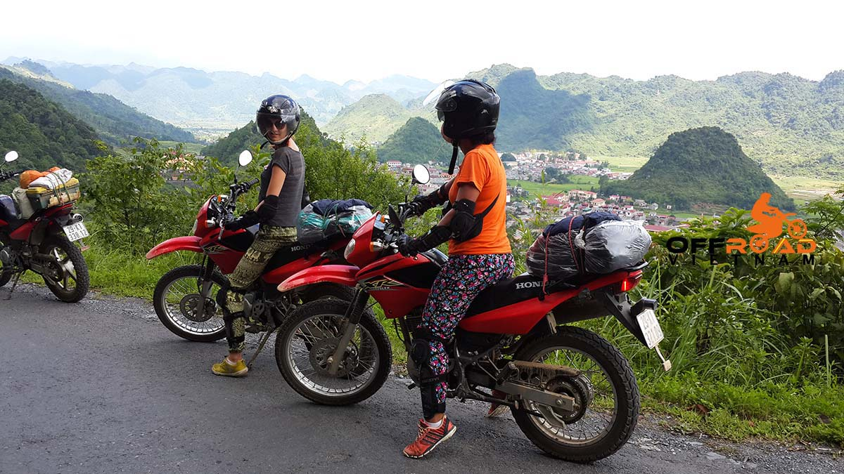 Vietnam motorbike and scooter tours specially desinged for female riders. That's women motorcycle tours.
