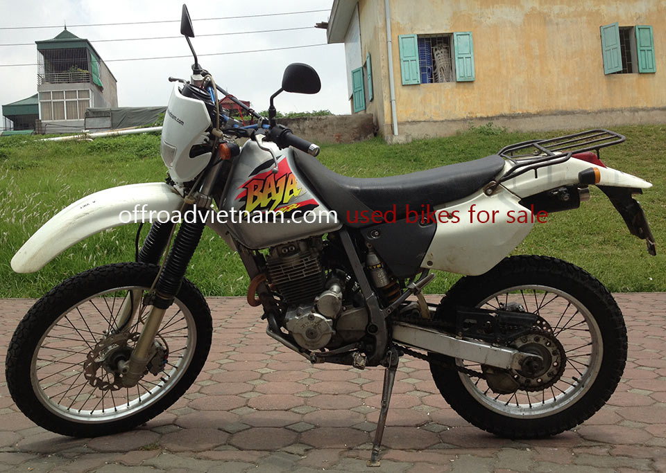 Offroad Vietnam Motorbike Sale - 1998 Honda XR250 Baja For Sale In Hanoi, Vietnam. Silver, Red, Black or White with disc brakes