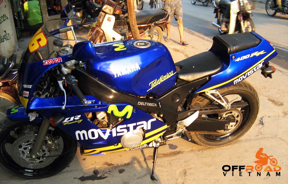 Offroad Vietnam Motorbike Sale - Yamaha FZR 400cc Used Sport Bike Sale