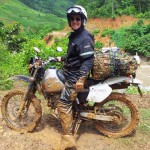 Honda XR250 Baja on a Vietnam dirt bike tour