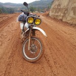 Honda Baja 250cc on a Vietnam dirt bike tour