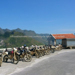 Large group bike tour to Ha Giang