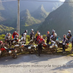 Large motorbike tour with 17 riders from NZ September 2013.